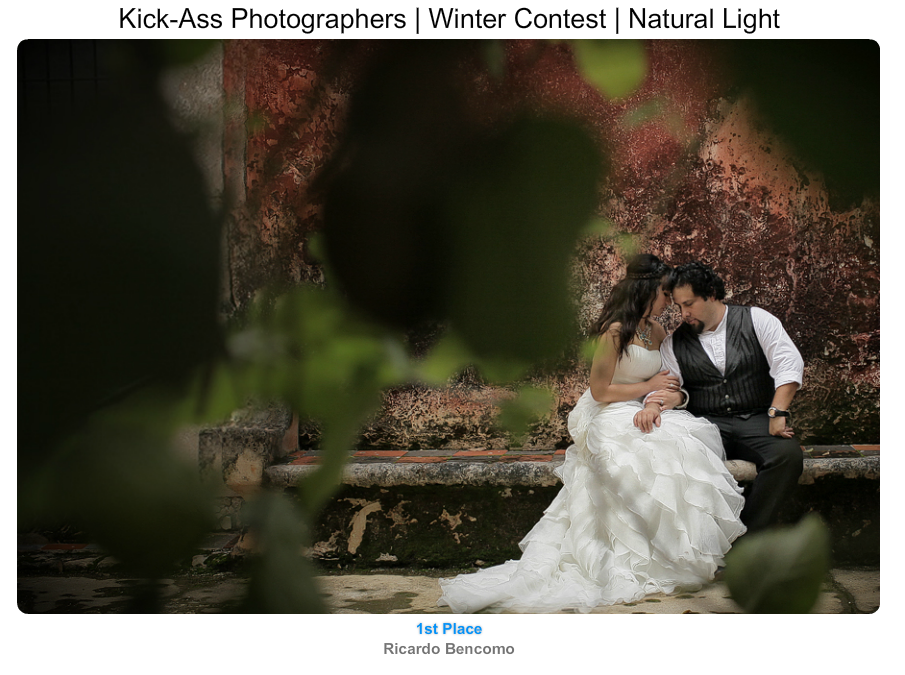 ricardo bencomo wedding  prize uayamon best photography