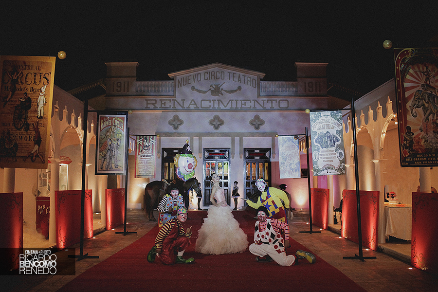 Circo Teatro renacimiento campeche xv quince años ricardo bencomo fotografia