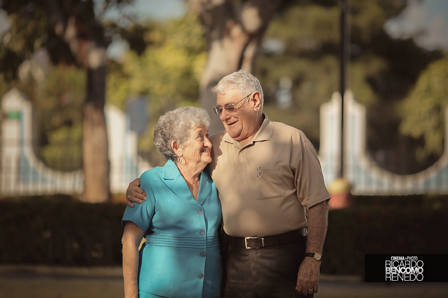 Boda de Oro 50 años matrimonio Ricardo Bencomo novios wedding abuelos