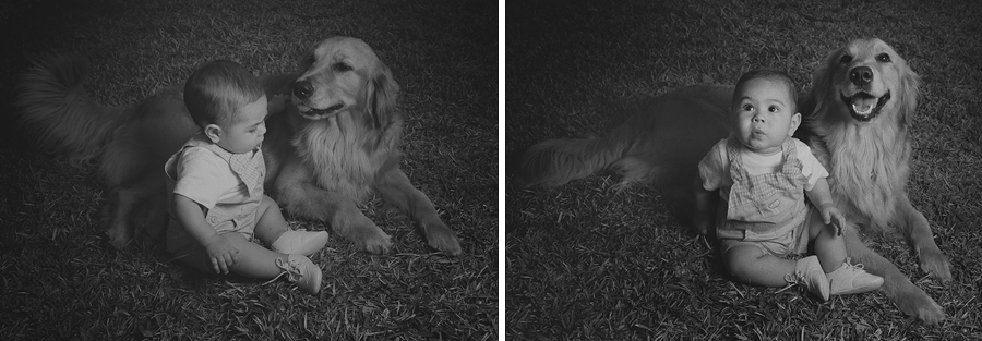 mascota perro bebe niño fotografia campeche niños familia