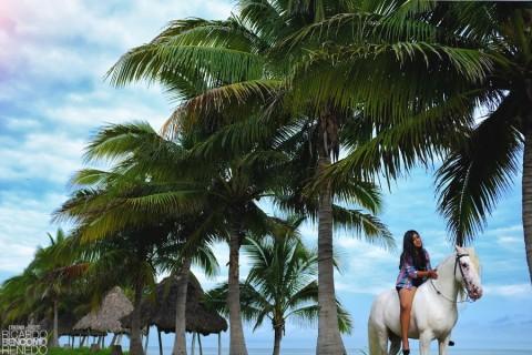 charreria xv cabalos sesion de fotos fotografo campeche quince años