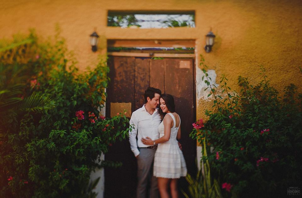 centro historico campeche fotografo ricardo bencomo boda sesion casual novios